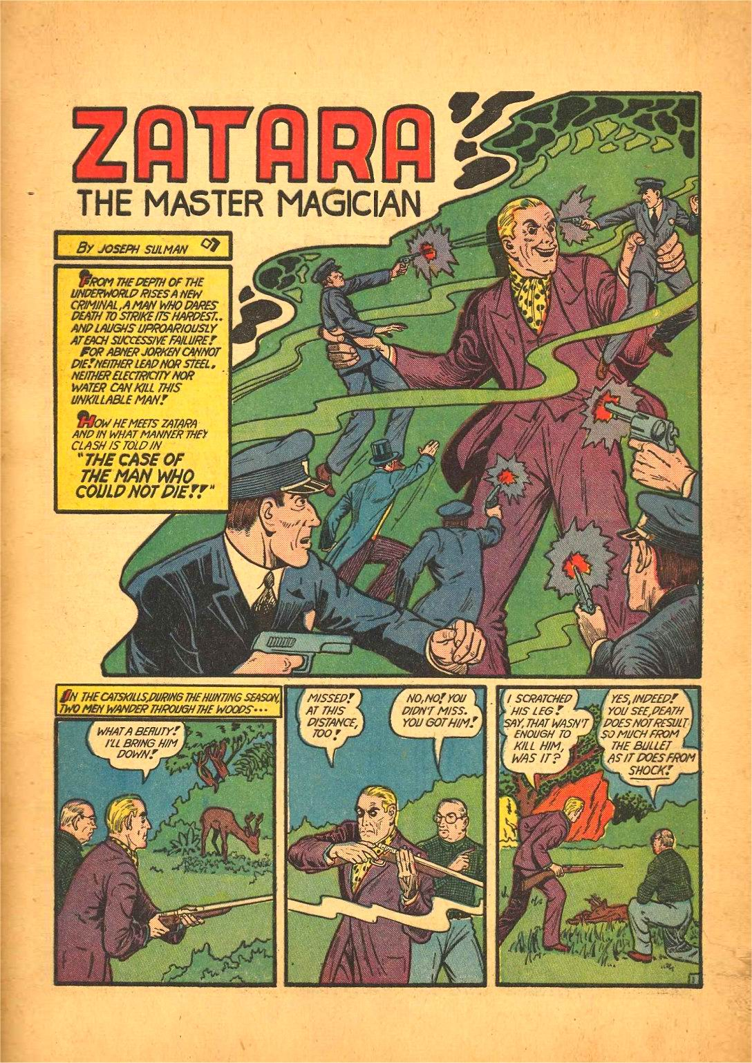 Read online Action Comics (1938) comic -  Issue #50 - 65