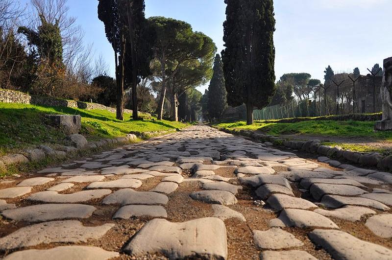Vía Apia de Roma
