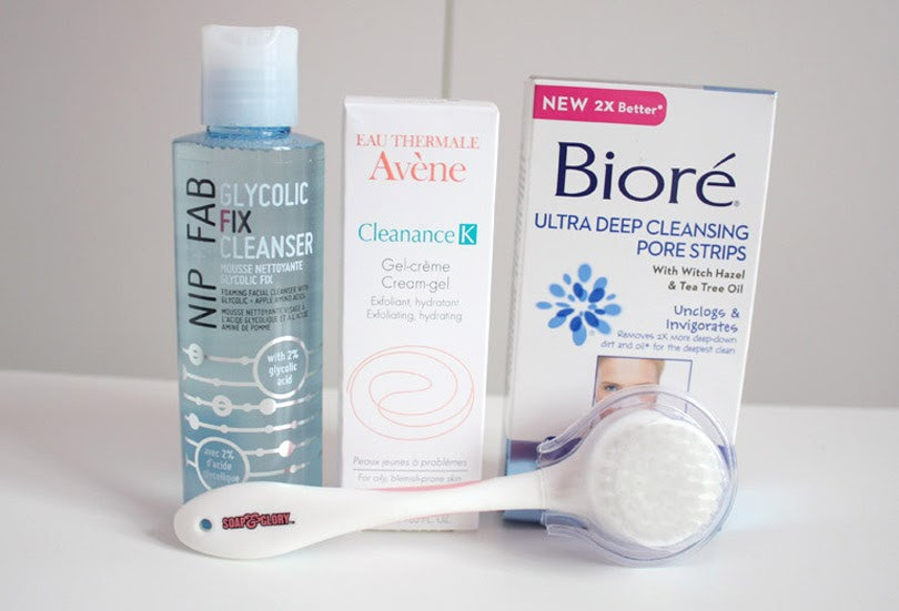 nip and fab avene biore soap and glory skincare