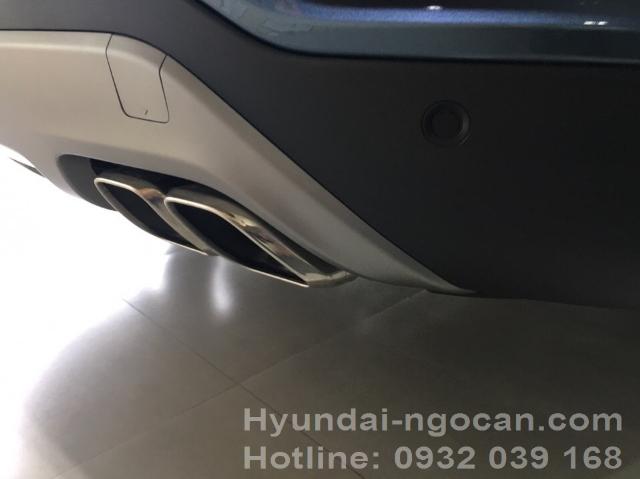 Santafe 2017 màu xanh Hyundai Santafe 2017 máy dầu màu xanh e3ea5cf70757c07b3556c180e1522a79