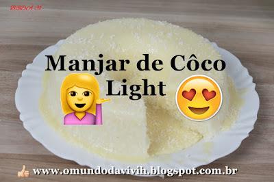 Manjar de Coco Light