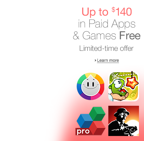 Amazon Appstore giving away $140 worth of 37 PAID apps and games for FREE