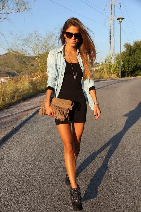 Ladyspace How To Wear A Jeans Jacket