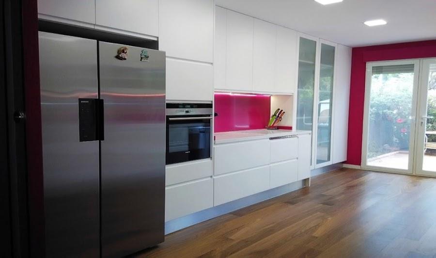 Puertas lacadas en blanco o blanco roto - Cocinas lacadas en blanco ...