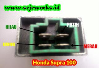 Komplit Banget bro  Jalur Kelistrikan Honda Grand  Supra