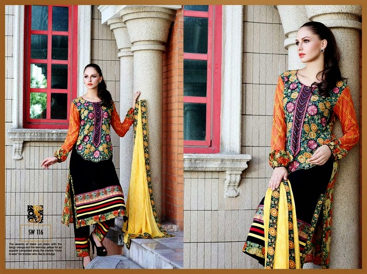 Shaista Eid Collection 2014-2015