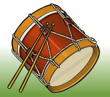 スペイン・ガリシア地方のドラム/タンボール tanbor