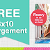 "Free 8""x10"" Photo Print + Free Store Pickup at Walgreens or $0.99 Shipping"