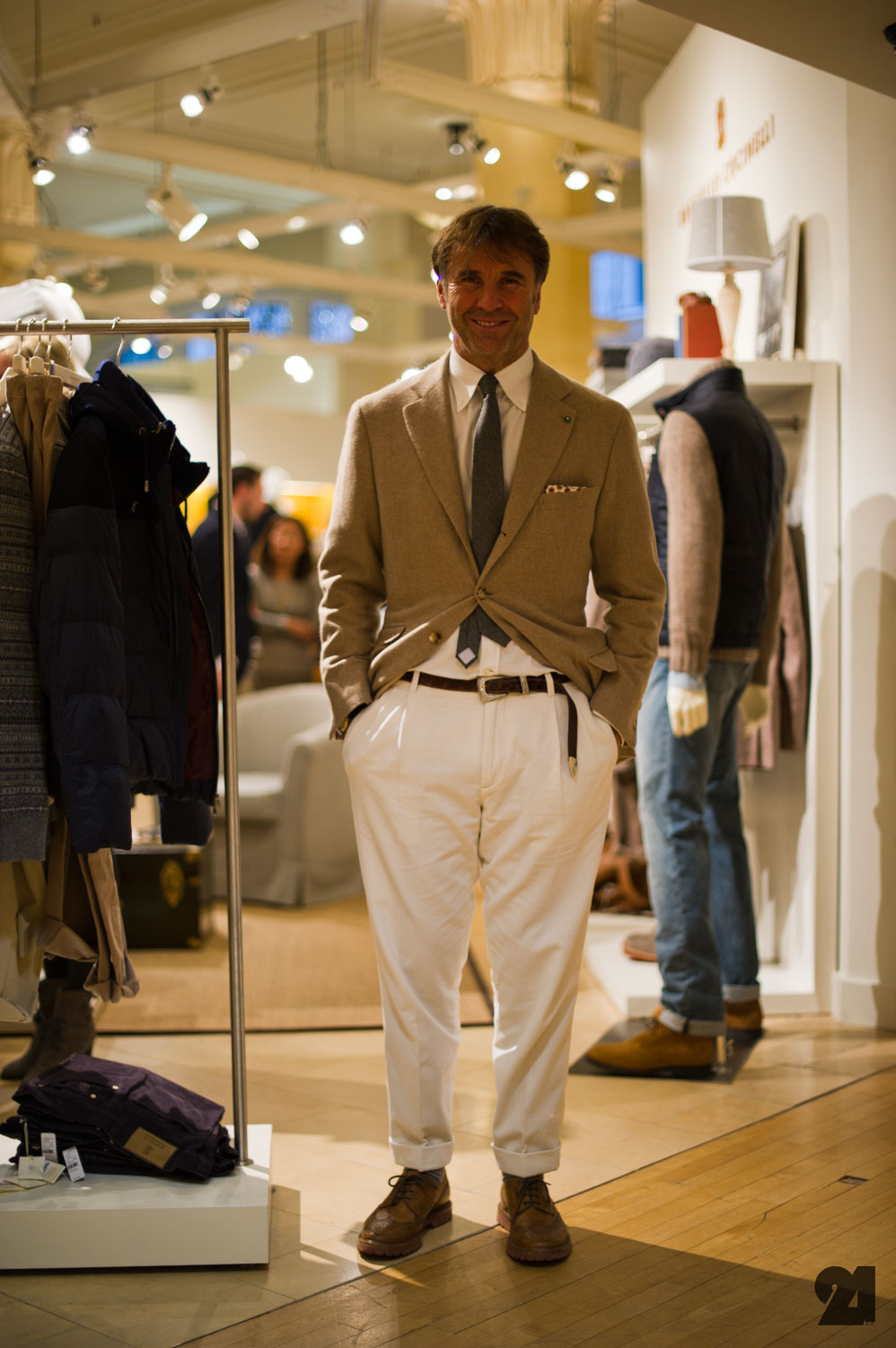 Chad S Drygoods Brunello Cucinelli Strike A Pose