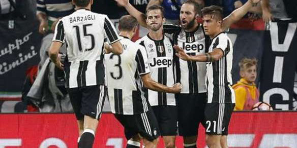 Juventus Tundukan As Roma Lewat Adu Penalti