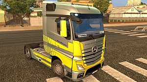 FuelDuel v2 skin for Mercedes MP4