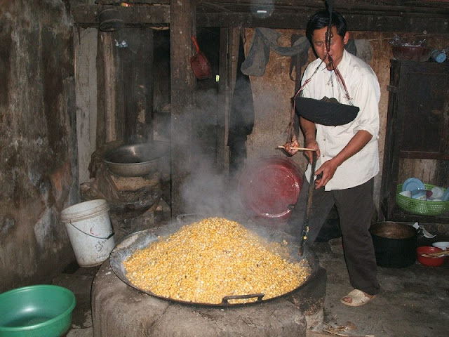 Enjoy Hagiang's traditional corn wine over the beautiful Karst Plateau 2
