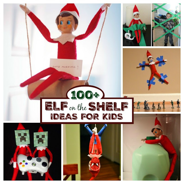 100+ GENIUS ELF ON THE SHELF IDEAS FOR KIDS- so many ideas I'd never seen!