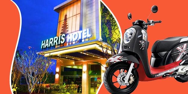 Sewa Motor Di Hotel Harris Bali