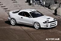367. Zdjęcia #119: Toyota Celica V (T180). staryjaponiec blog