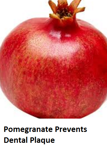 Health Benefits of Pomegranate Fruit (anar fruit) juice - Pomegranate Prevents Dental Plaque