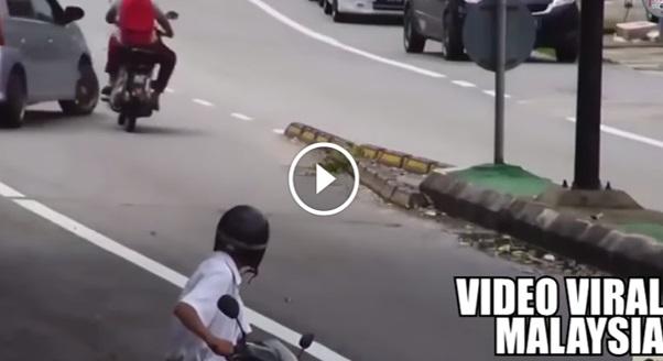VIDEO: ALLAH ! Pak Cik Ini Bagaikan Dah Tahu Kemalangan NGERI Akan Berlaku ! Anda Tonton Sendiri