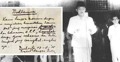 Sejarah Kronologi Proklamasi Kemerdekaan Indonesia