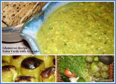 Glamorosi Recipe: Salsa Verde with Avocado