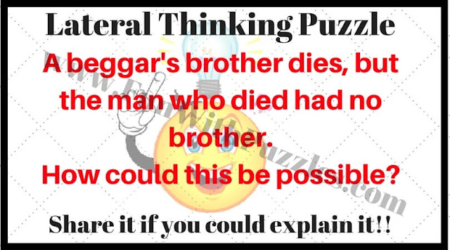 Lateral thinking riddle