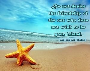 Kata Kata Mutiara Persahabatan dalam Islam