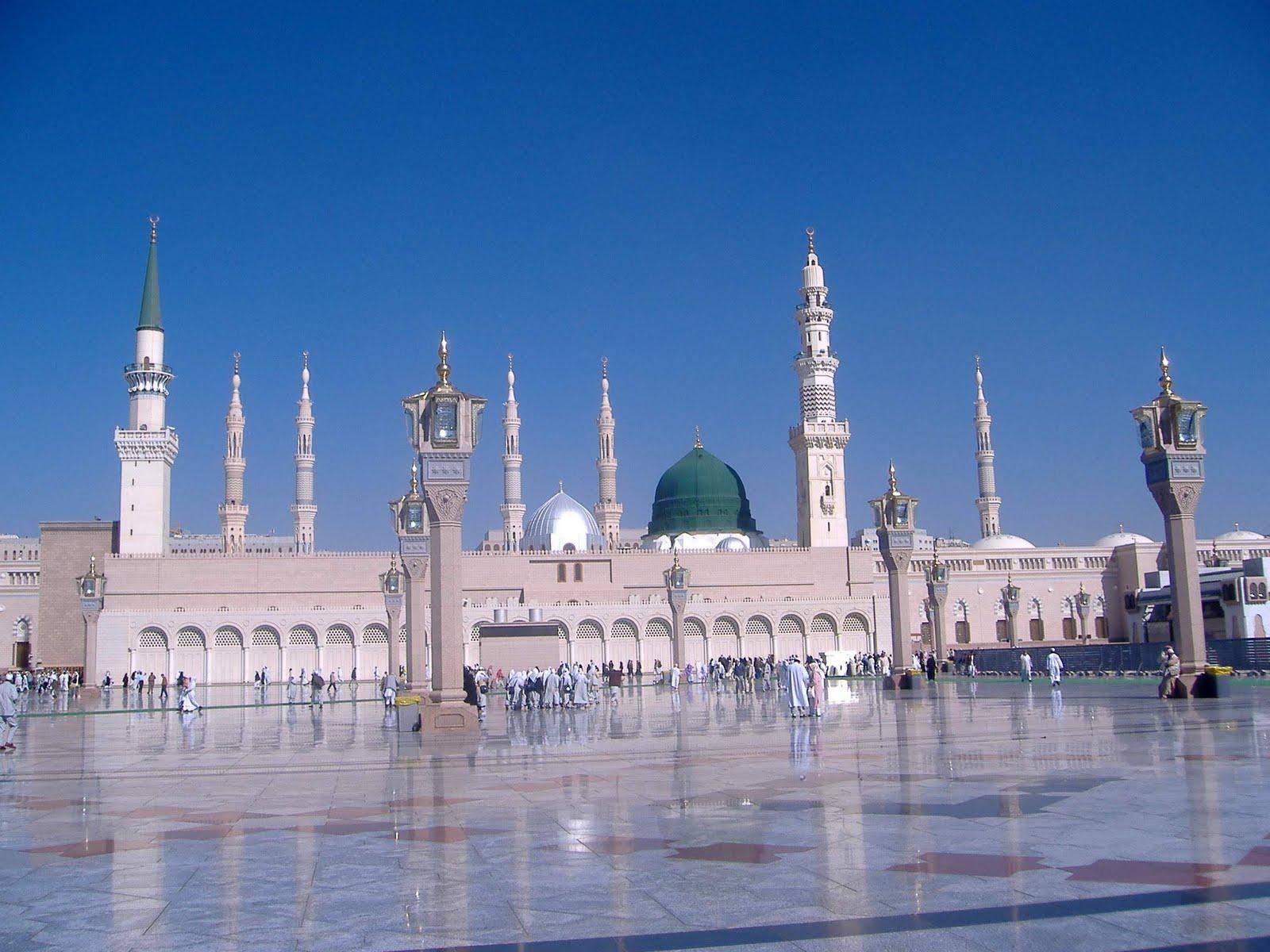 FULL WALLPAPER: Masjid-e-Nabvi Wallpapers