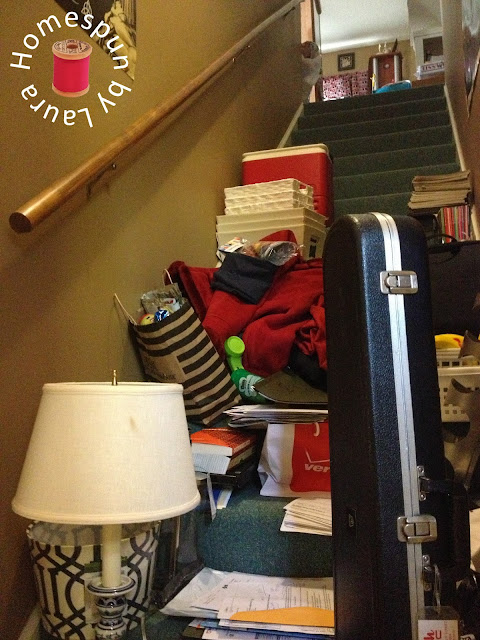 Homespun by Laura : One Room Challenge : Office / Sewing & Craft Room