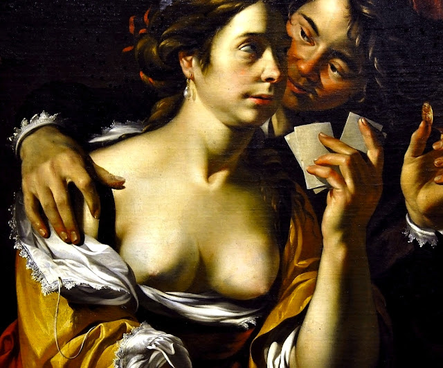 Wouter Crabeth II - card players - sex paintings - erotismo - arte