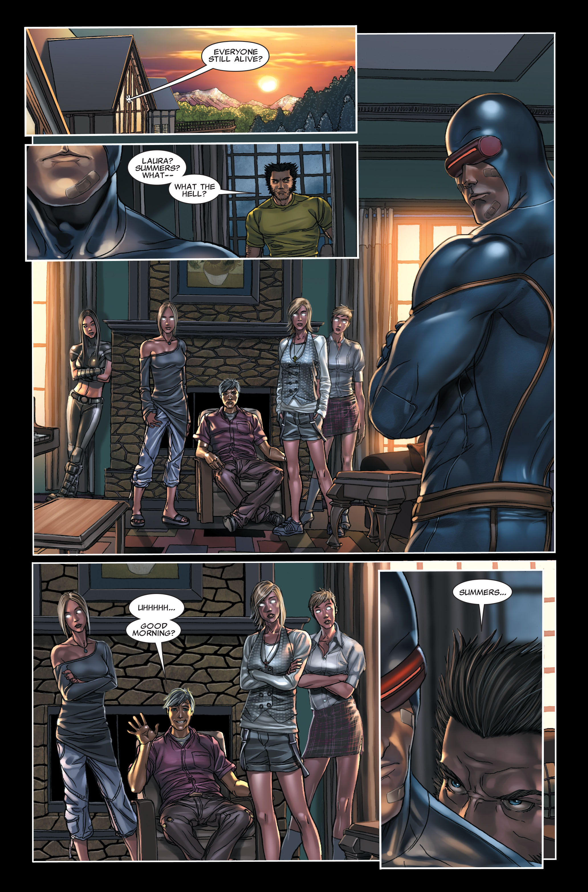 Read online X-Force (2008) comic -  Issue #7 - 14