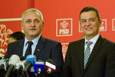 Liviu Dragnea, Sorin Grindeanu, btk.-módosítás, Románia, közkegyelem