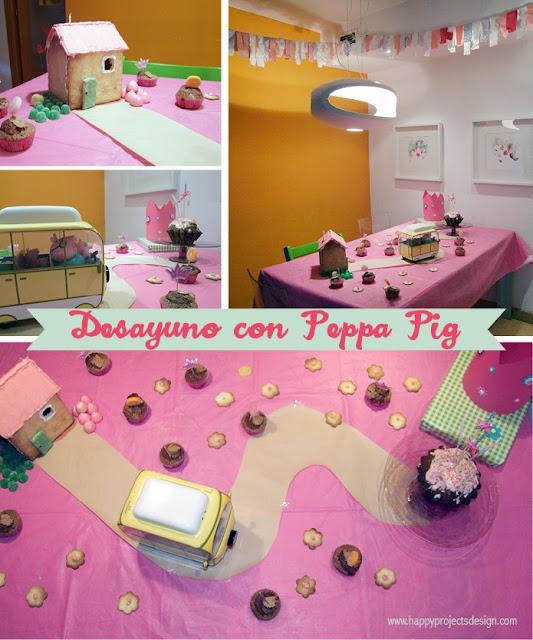 Un cumpleaños diferente: desayuno con Peppa Pig