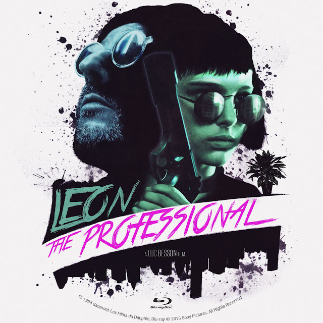 Label Bluray Leon The Professional