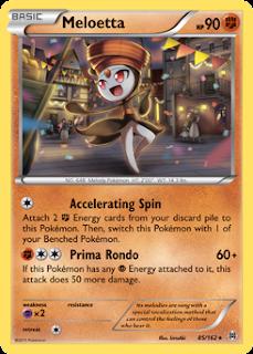 Meloetta BREAKthrough Pokemon Card