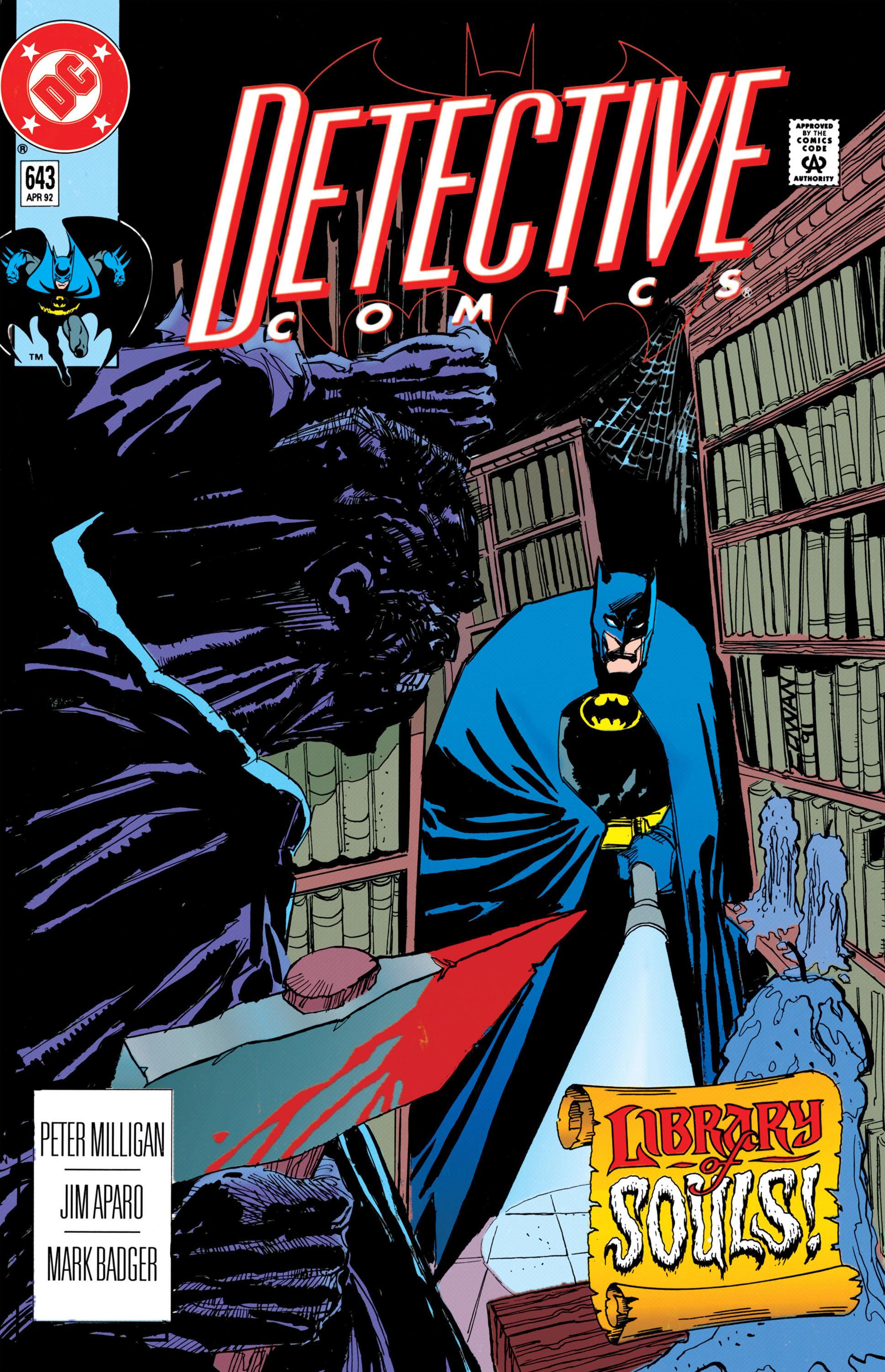Detective Comics (1937) 643 Page 0