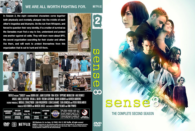 Sense 8 Season 2 DVD Cover