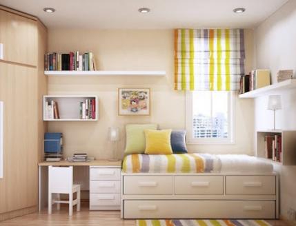 tips dan contoh kamar tidur minimalis agar terlihat indah