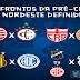 Pré-Copa do NE: Confiança encara Sampaio Corrêa na fase preliminar