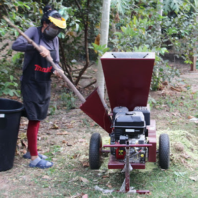 Thailand Garden Wood Chipper Delivery