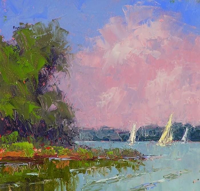 Пейзажи восточного побережья. Diane DuBois Mullaly