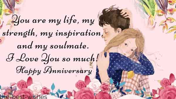 marriage anniversary wishes to wife