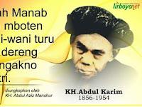 Amalan Malam Hari Raya Ied Wasiat KH Abdul Karim Lirboyo
