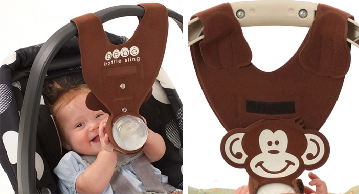 Grosgrain: Car Seat Baby Bottle Holder