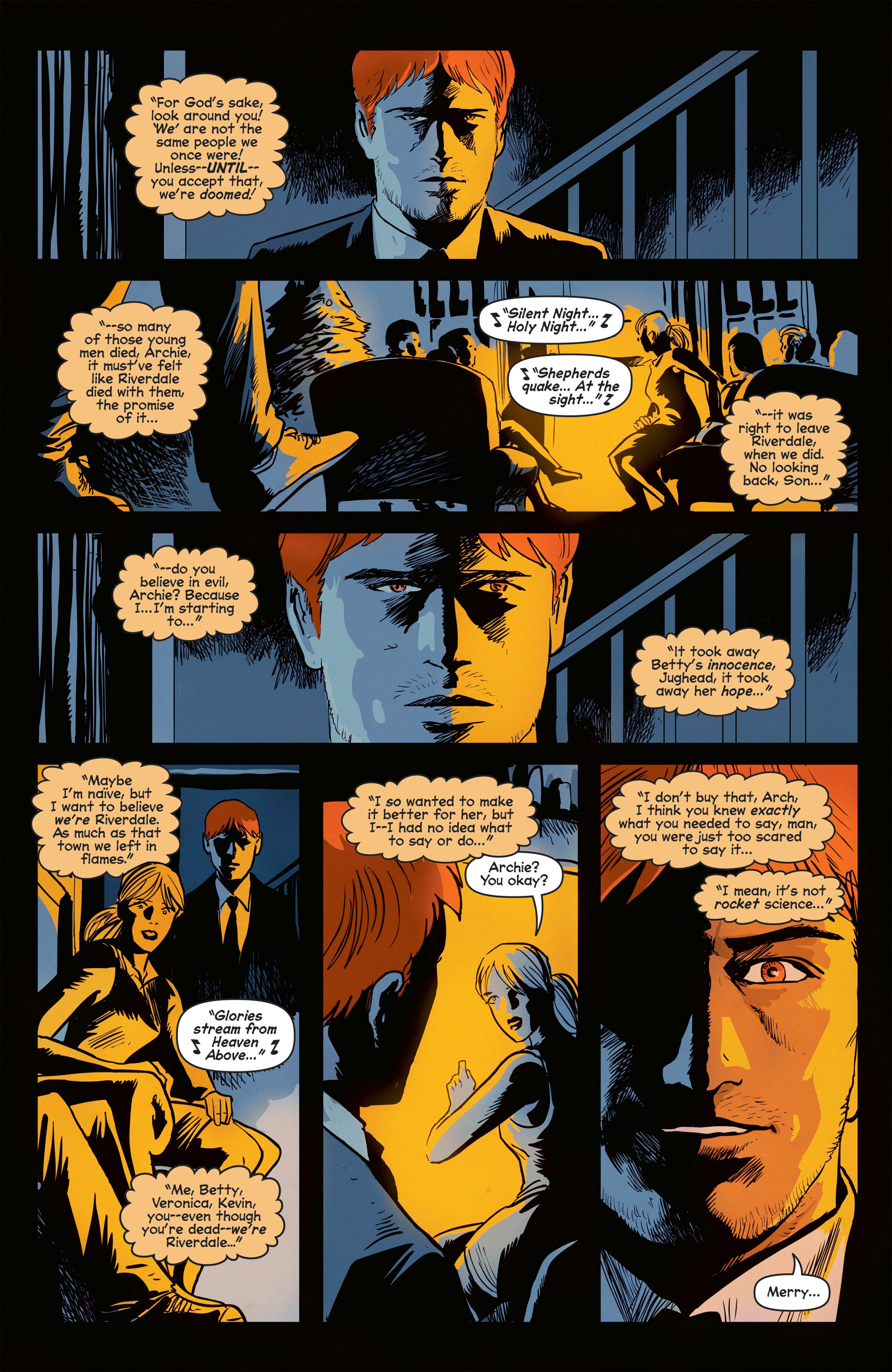 Read online Afterlife with Archie comic -  Issue #8 - 27