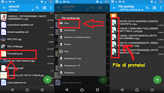 Cara Membuat Folder Zip Dengan Password Di Hp Android