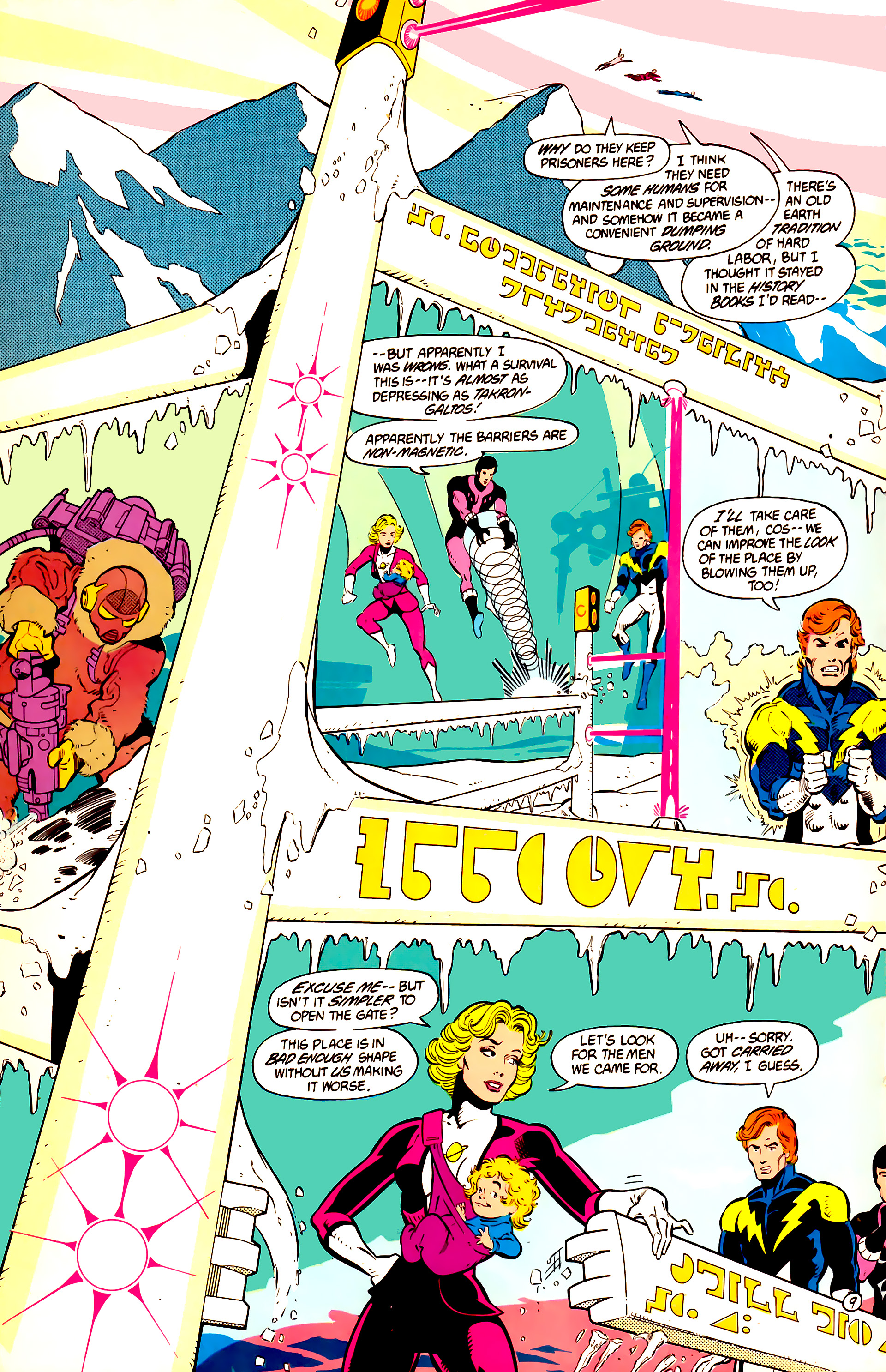 Legion of Super-Heroes (1984) 11 Page 10