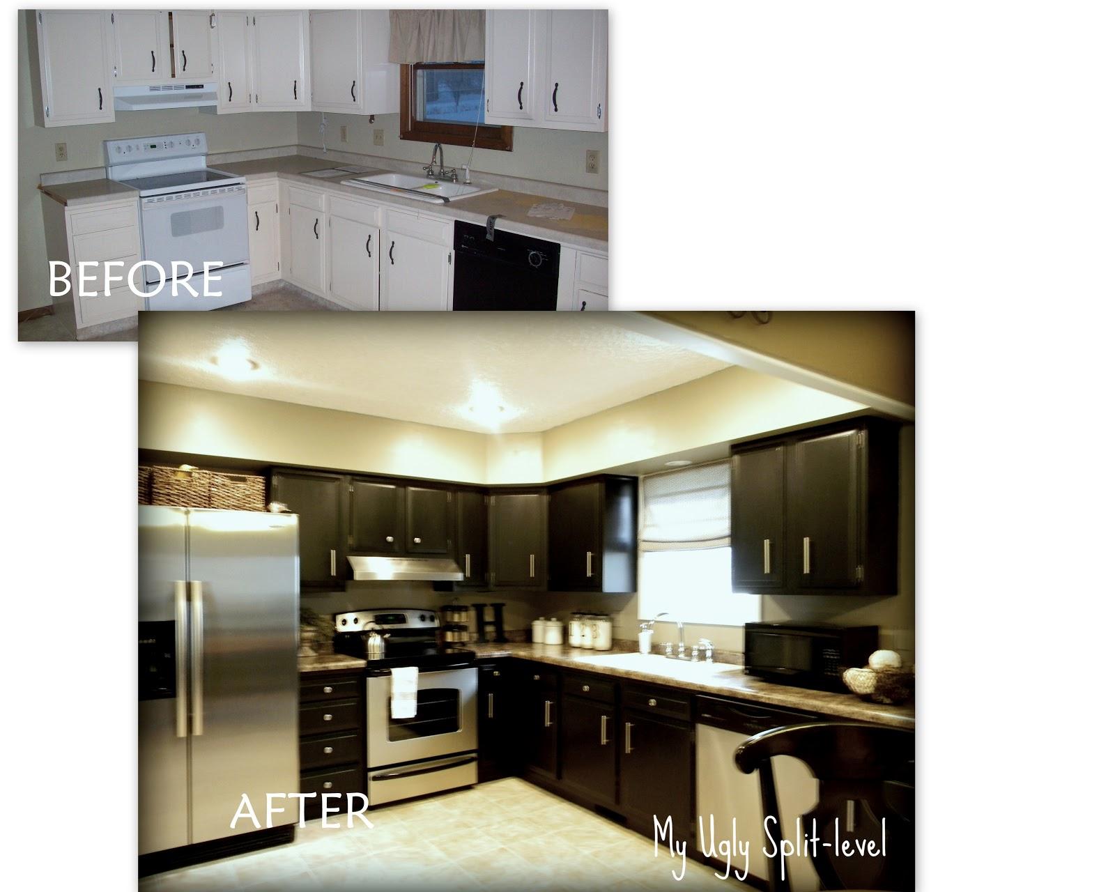 the kitchen split level kitchen remodel Phase 1 The Cabinets