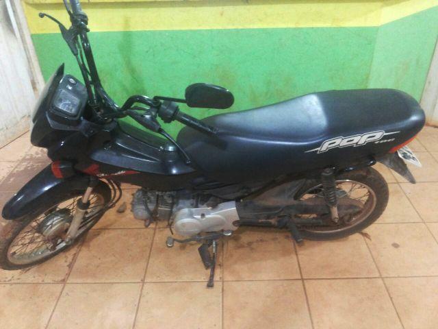 Com apoio da população PM recupera motocicleta