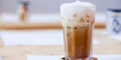 cara membuat es kopi susu