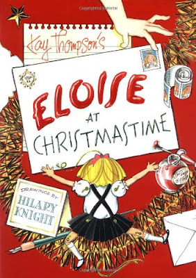 Eloise At Christmastime, part of Favorite Character Christmas Book Review List for Kids