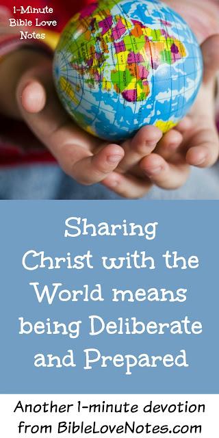 deliberate evangelism